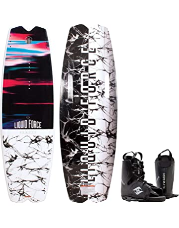 Liquid Force Remedy Wakeboard Mens Sz 138cm + Hyperlite Bindings Sz O/S 8-