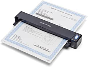 Fujitsu ScanSnap iX100 Wireless Mobile Portable Scanner for Mac and PC, Black