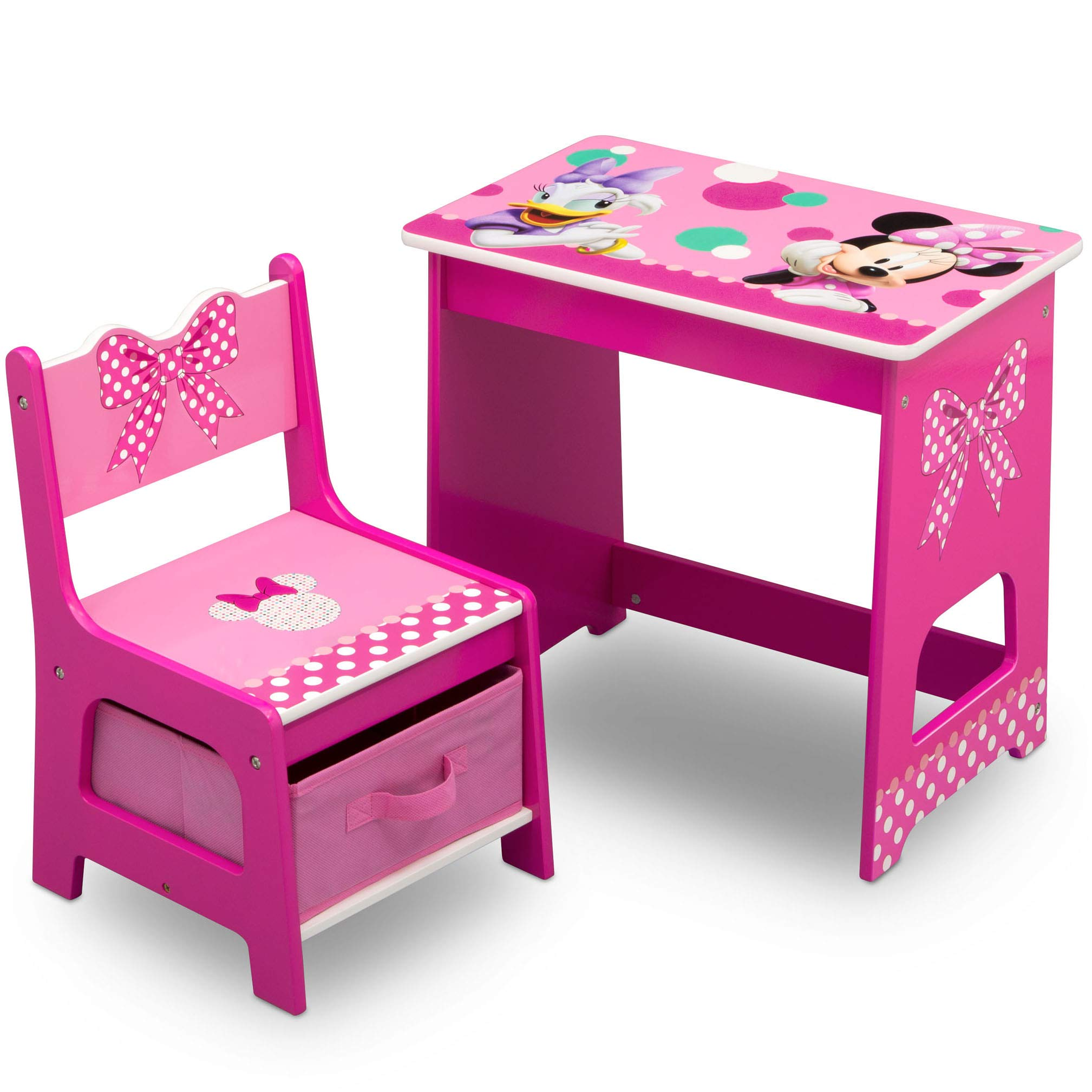 Delta Children Minnie Mouse Kids Wood Desk and Chair Set by Delta Children