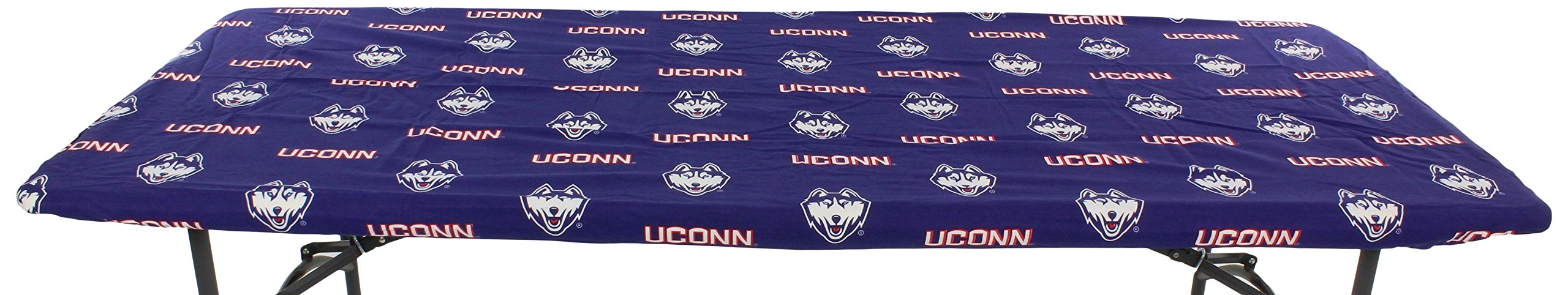 College Covers Connecticut Huskies Table Cover, 6'/72 by 30''