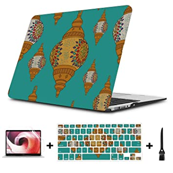 "Festival Hard Shell Plastic Case For MacBook Air 11/"" Pro 13//15/"" Retina 12/"" A1932"