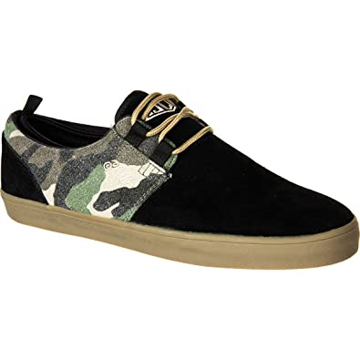 5edbba5633c8f Fallen Men's Capitol Skate Shoe, 8 D(M) US Black/ Camo: Amazon.co.uk ...