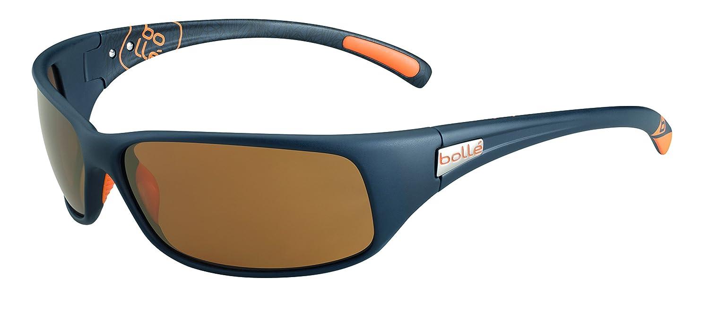 9de838162f9 Amazon.com  Bolle Recoil Sunglasses Matte Black Orange