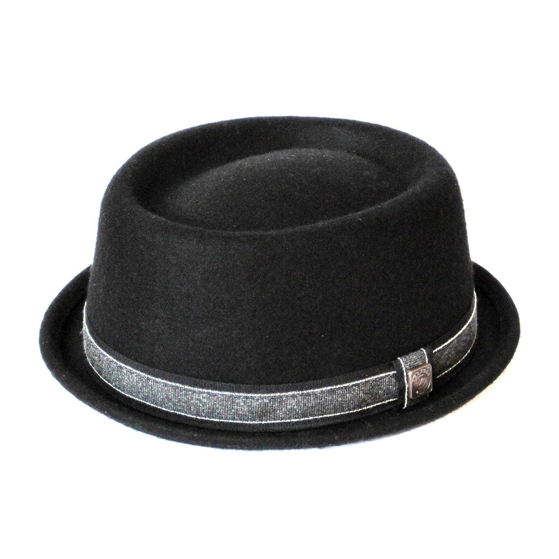 Dasmarca Mens Wool Felt Skimpy Brim Pork Pie Hat - Jack