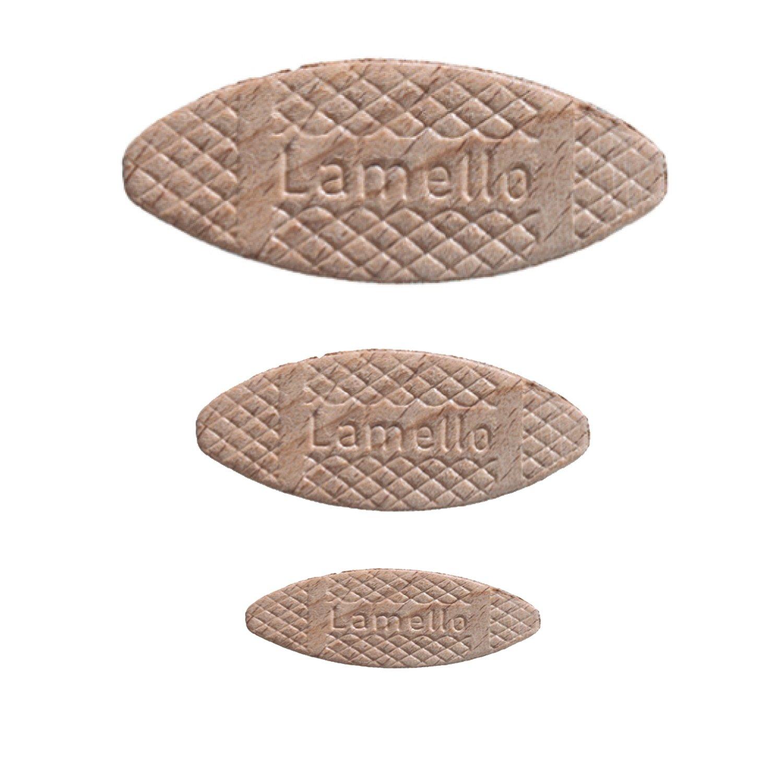 taille 0//10//20-100/pi/èces de chaque taille Gr/ö/ße 0//10//20 je Gr/ö/ße 100 St/ück Lamello Assortiment de chevilles plates//plaquettes de liaison 300