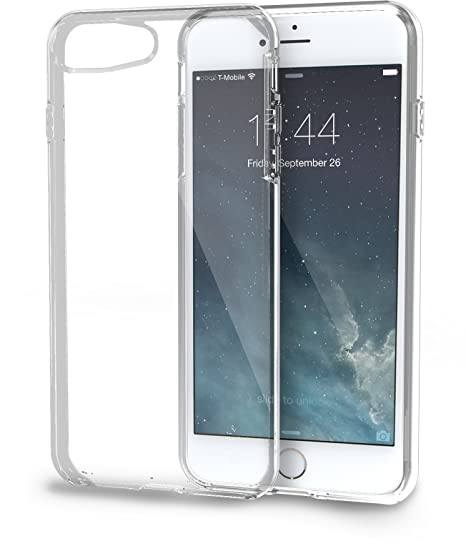 8576f030a1 Amazon.com: Silk iPhone 8 Plus/7 Plus Clear Case - PureView for iPhone 8  Plus/7 Plus [Ultra Slim Fit Protective Clear Cover] - Crystal Clear: Cell  Phones & ...