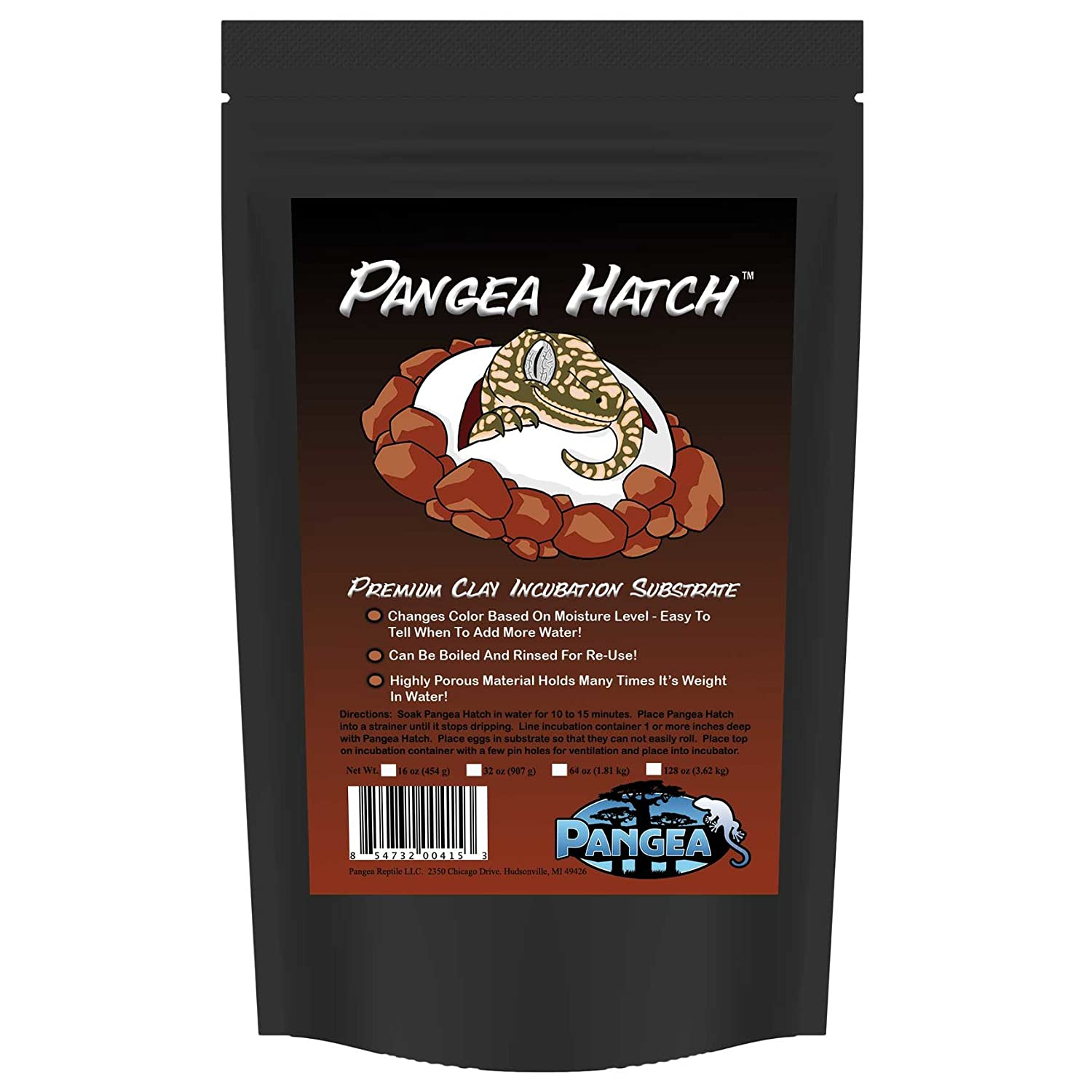 (0.5kg) Pangea Hatch Premium Reptile Egg Incubation Substrate
