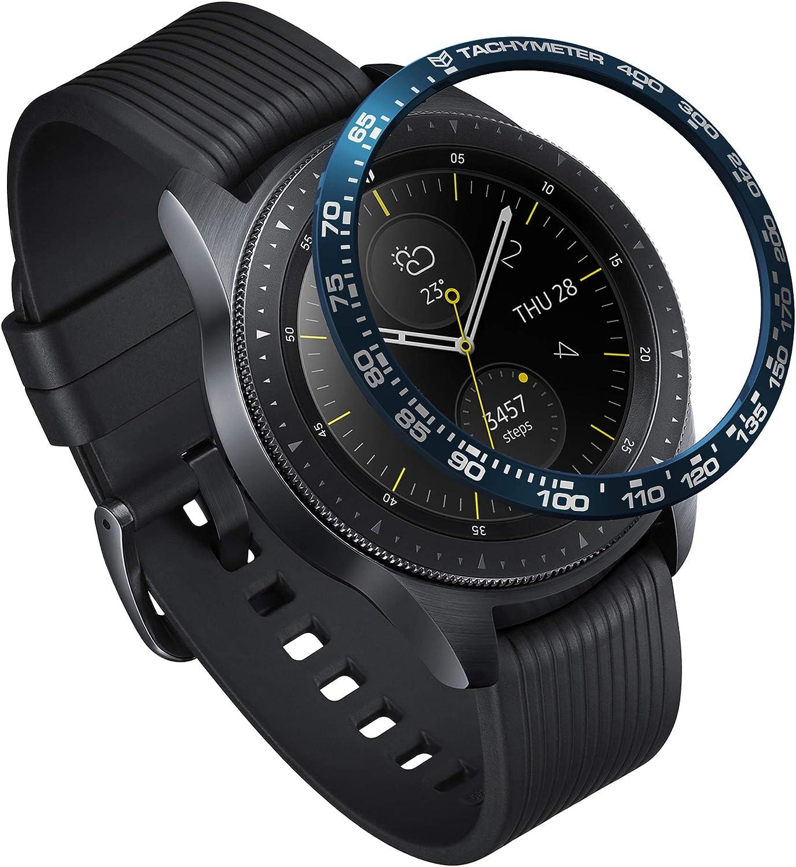 Ringke Bezel Styling para Galaxy Watch 42mm / Gear Sport, Bisel Anillo Cubrir Anti-rasguños Proteccion: Amazon.es: Electrónica