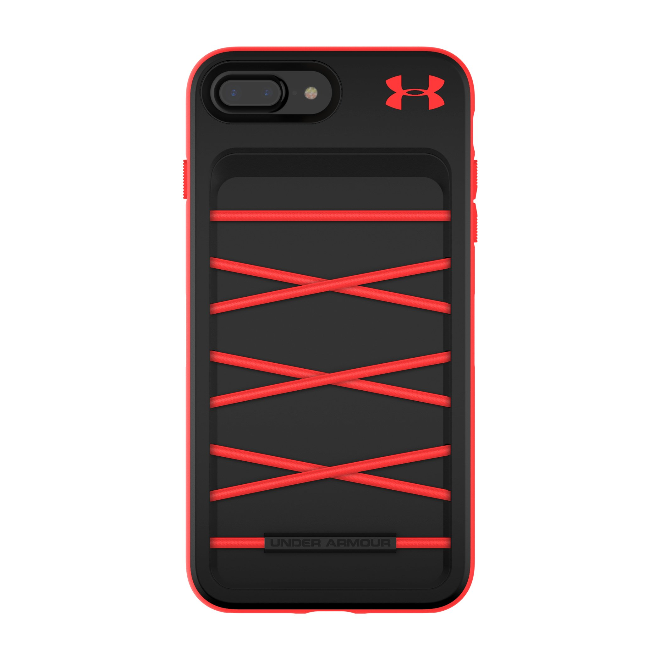 Under Armour UA Protect Arsenal Case for iPhone 8 Plus & iPhone 7 Plus - Black/Red