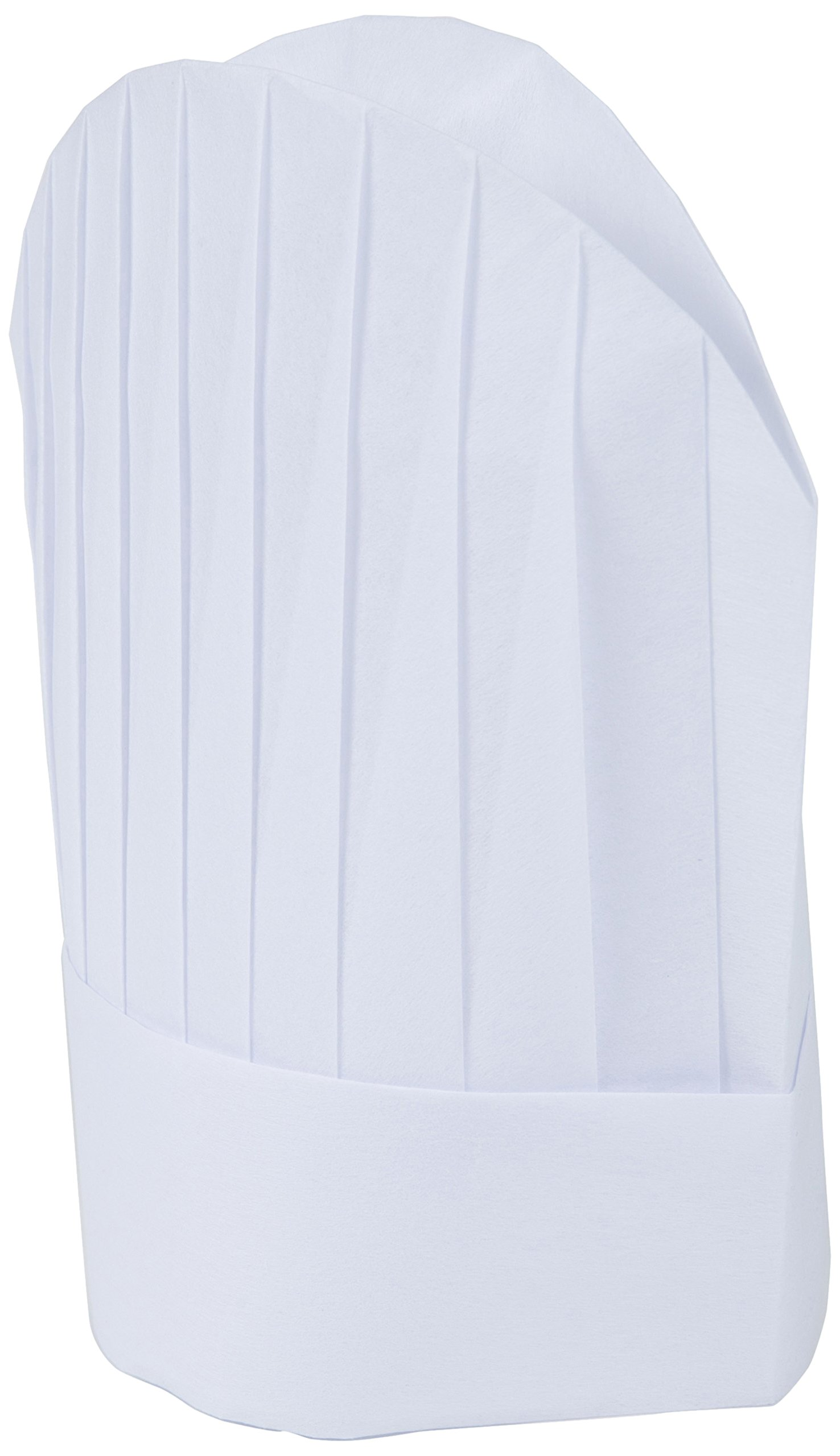 Mercer Culinary Non-Woven Oval Chef Toque, 8 1/2 Inch, White, 10 Pack by Mercer Culinary