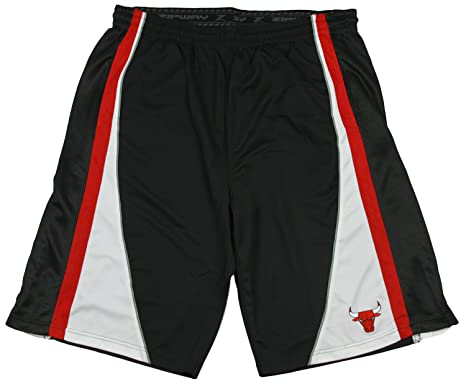 Chicago Bulls NBA Big & Tall Mens Basketball Shorts - Black ...