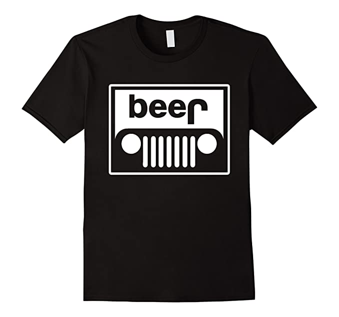 937061045 Amazon.com: Jeep Grille beer shirt funny upturned off-road 4x4: Clothing