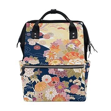 Amazon.com: vistyle mochila bolsa de pañales Japón patrón de ...