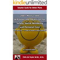 200+ Measurable IEP Goals and Objectives Safety, Social Wellbeing and Personal Care (Special Education SMART Goal Series…