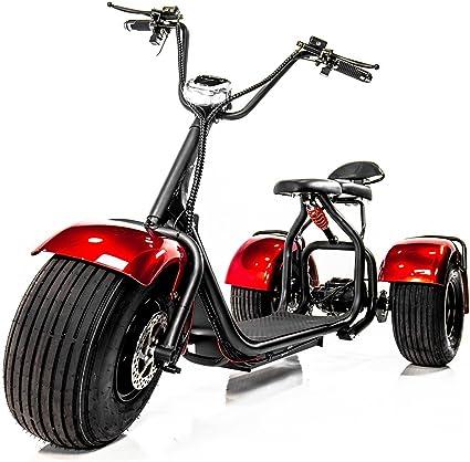 Amazon.com: eWheels Chopper Triciclo con neumáticos de grasa ...