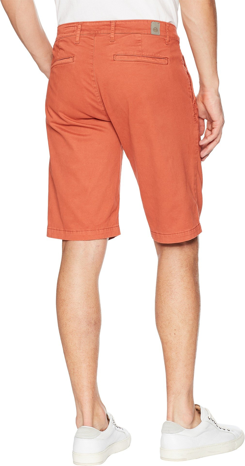 AG Adriano Goldschmied Men's Griffin Shorts in Sulfur Rosso Red Sulfur Rosso Red 36 11 by AG Adriano Goldschmied (Image #3)