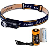 Fenix HM50R 500 Lumens Multi-Purpose Compact LED Headlamp Flashlight & 16340 Battery PLUS Additional LumenTac CR123A Battery