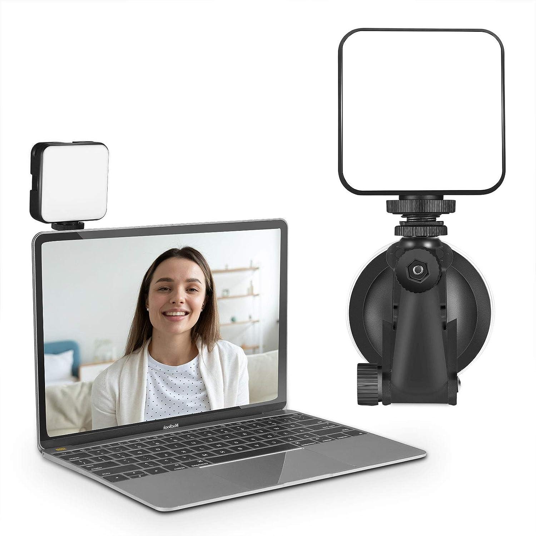 CHANONE Kit de iluminación de transmisión en Vivo para videoconferencia, Zoom, transmisión automática, Trabajo Remoto