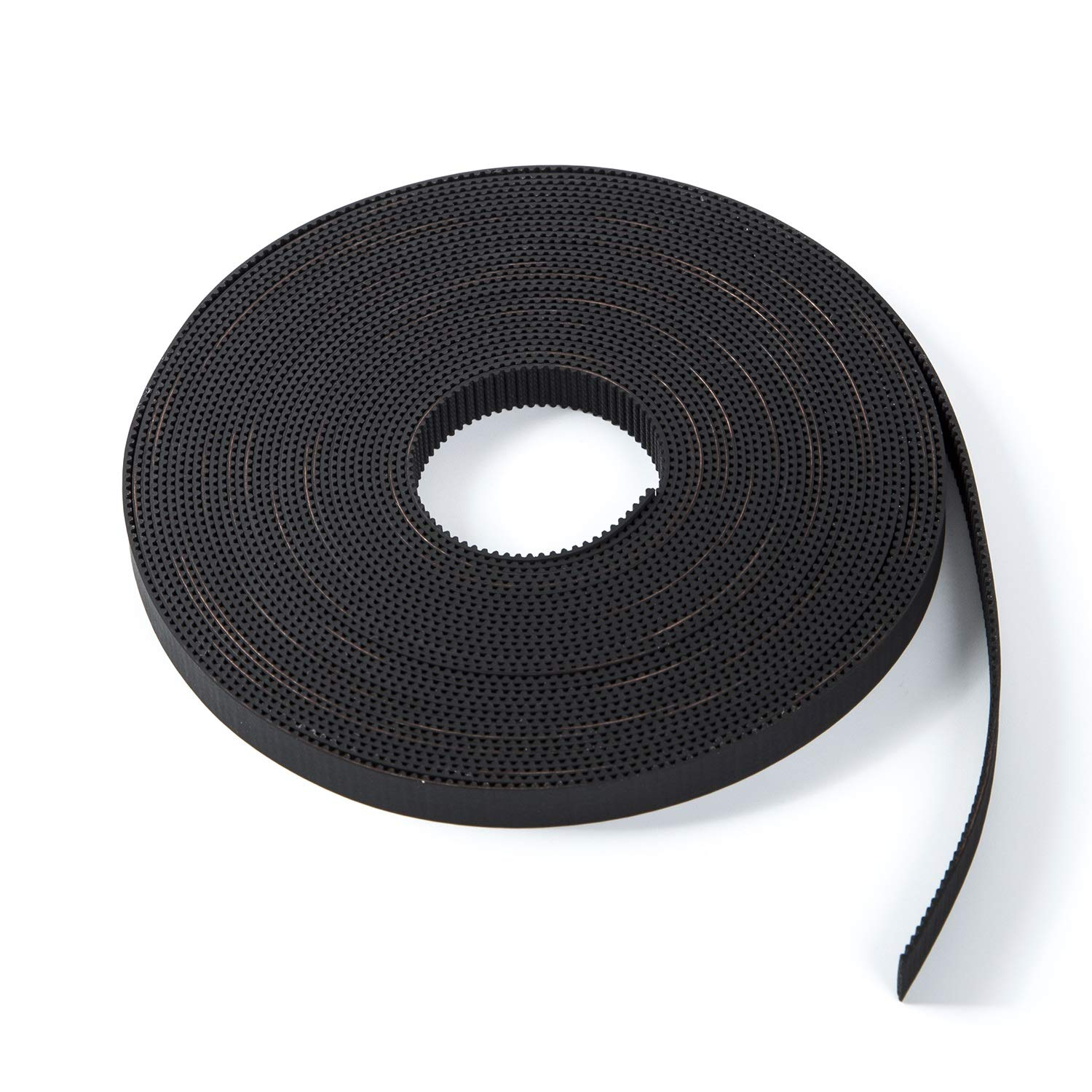 S.Y.M 3D Printer Printer Accessories Pen Timing Belt 10mm Width Rubber Fiberglass for 3D Printer (Opened-Belt) 10M by S.Y.M (Image #1)