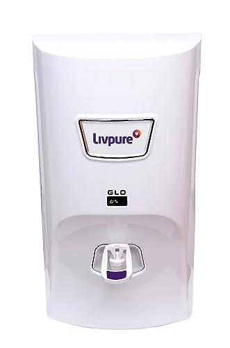 5. Livpure Glo 7 litres RO+UV+ Mineralizer water purifier, White
