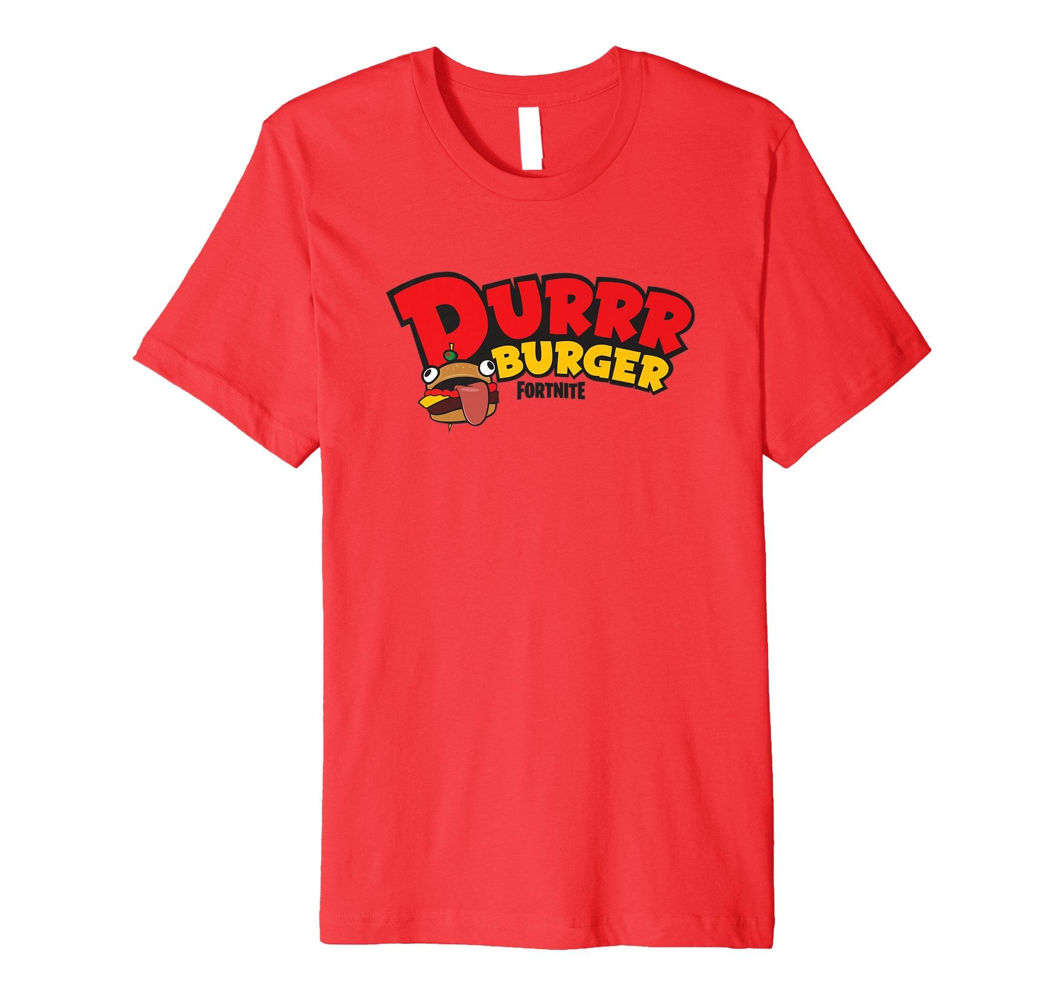 Fortnite Durrr Burger T Shirt