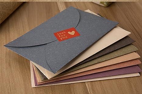 Amazon.com: 8 piezas Mini sobres, varios colores Multi ...