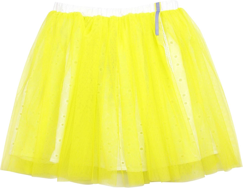 Sizes 7-12 Deux par Deux Girls Tulle Skirt Yellow Colibri Joli