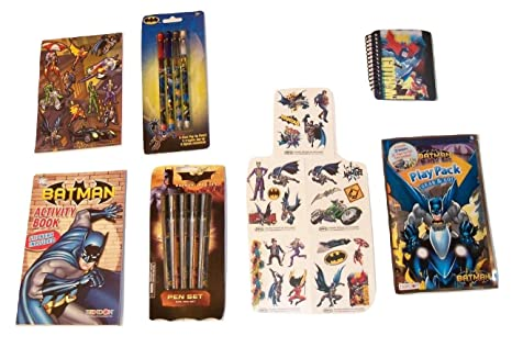 Amazon Com Dc Comics Batman Activity Gift Set Fighting For Good