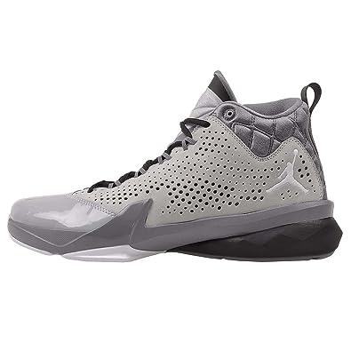 innovative design 4a0f0 58512 Jordan Men s Nike Flight Time 14.5 Basketball Shoes-Wolf Grey White Cool  Crey