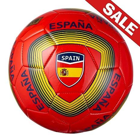 Máquina de punto de balón de fútbol tamaño: 5 con países nombre ...