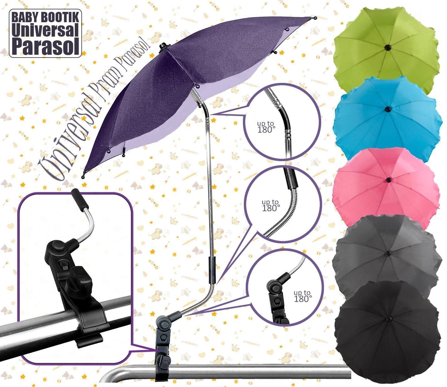 Baby Pram Pushchair Sun Parasol//Universal Umbrella Shade Canopy Pink