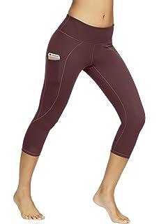 1f8a8413b94d6 KAYVEN MAS Mesh Leggings, High Waist Yoga Pants Tummy Control Workout  Running 4 Way Stretch