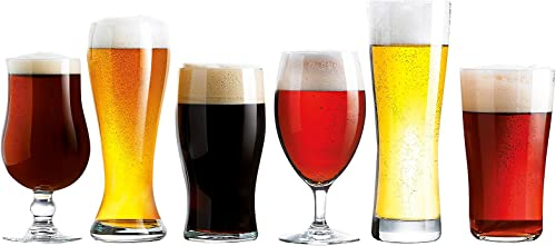 Luminarc Assorted Craft Brew Glasses