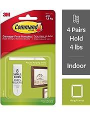 Command - Tiras adhesivas para colgar cuadros de tamaño mediano, 17205