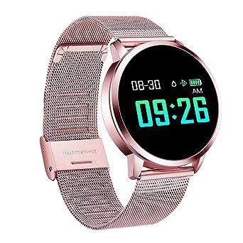 Naack Reloj Inteligente Pulsera Monitor de frecuencia cardíaca smartwatch Monitor De Ritmo Cardíaco Mujeres Hombres niños Sport Smartwatch Mensaje ...
