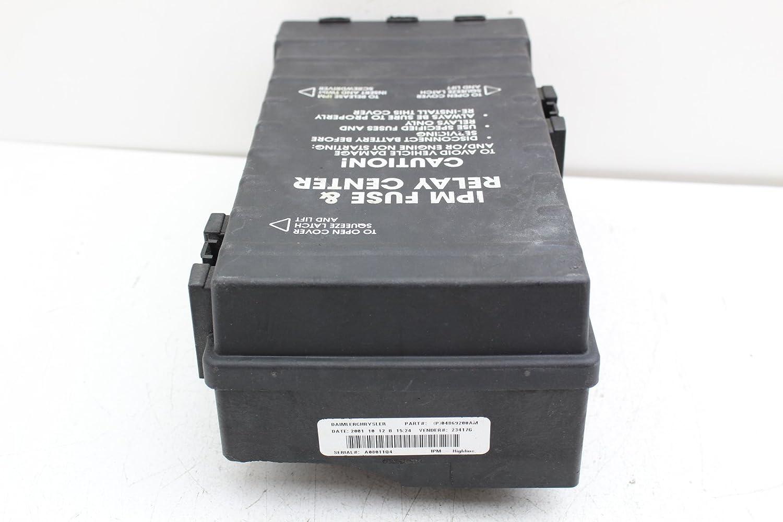 01 03 Dodge Caravan 04869000aj Fusebox Fuse Box Relay Unit Module Price Engine Computers Amazon Canada