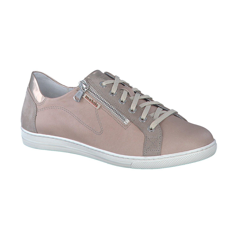 Mephisto Zapatos de Cordones de Piel Lisa Mujer 39.5 EU|marrón