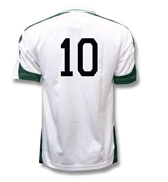 Amazon.com: Alpha - Camiseta de fútbol personalizable con su ...
