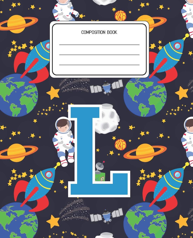 Amazoncom Composition Book L Space Pattern Composition