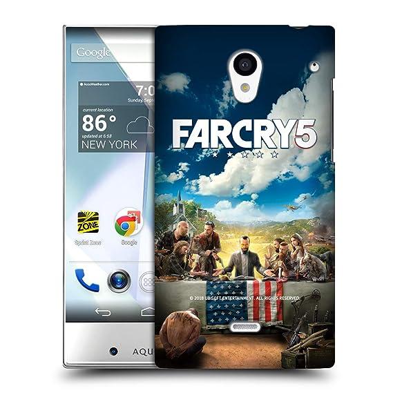 Amazon com: Official Far Cry Main 5 Key Art and Logo Hard Back Case