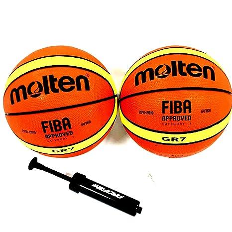 Molten GR7 - Balón de Baloncesto (2 Tonos, Aprobado por la ...