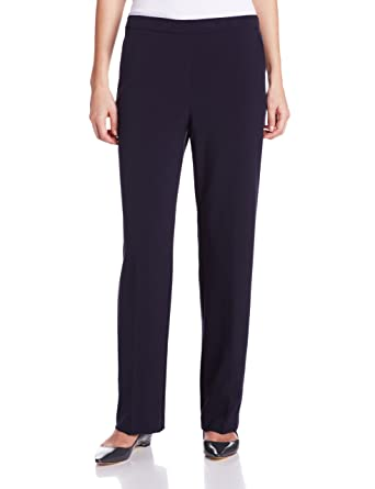 3aafd238f49 Briggs New York Women s Pull-On Pant with Slimming Solution  Amazon.co.uk   Clothing