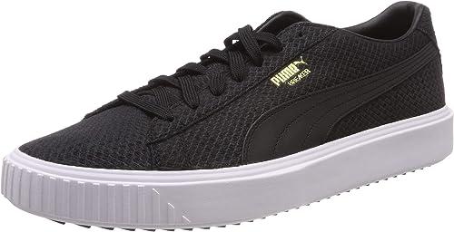 PUMA Breaker Suede Low-Top Sneakers