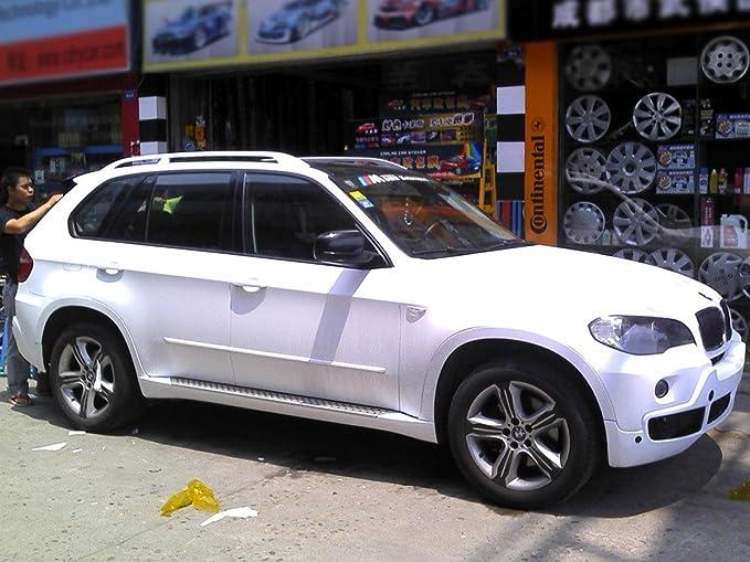 Auto Folie Matt Weiß Selbstklebend 1 Rolle 0 5m X 2m Auto