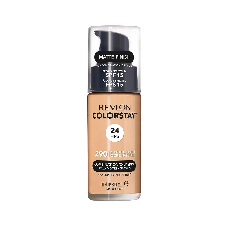 Revlon ColorStay Liquid Foundation For Combination/oily Skin, SPF 15 Natural Ochre, 1 Fl Oz