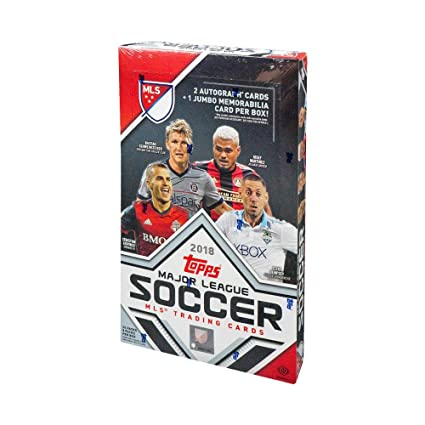 75f3e87999e Image Unavailable. Image not available for. Color  2018 Topps MLS Soccer  Hobby Box
