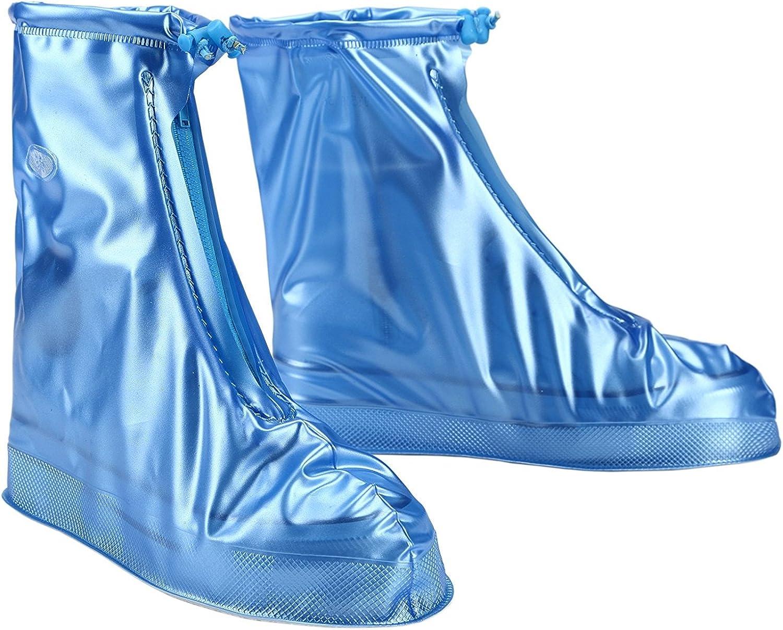 Wasserdichte Überschuhe für Herren Damen Schuhe Elastizität Latex Easy Übersc WK