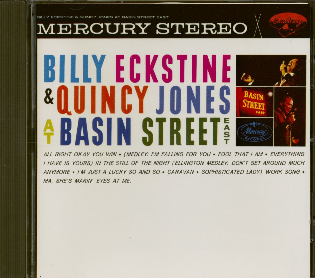 At Basin St. East : Live! by Eckstine, Billy