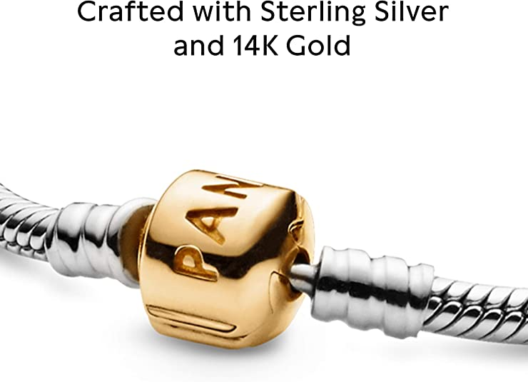 Sterling Silver 14k Gold-plated Reflections Letter K Bead