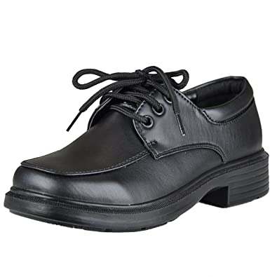Amazon Boys Dress Shoes Tonal Stitch Mock Toe Lace Up Oxford